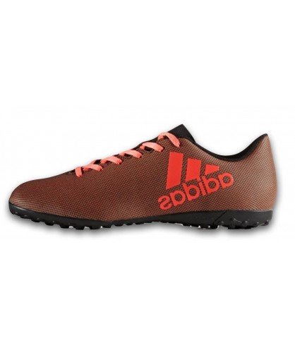 Chaussures de Futsal et de Foot 5 noires X 17.4 TF adidas
