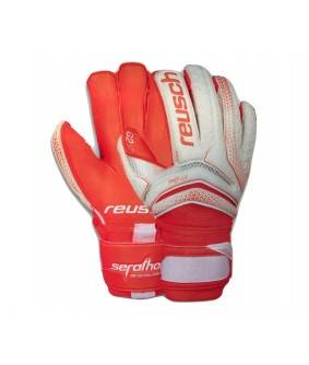 Gants de Football et de Futsal orange Serathor Pro G2 Evolution Ortho-Tec Reusch