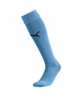Chaussettes de Futsal et Foot5 Stricker Socks bleu ciel Puma