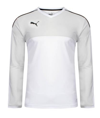 Maillot manches longues de Futsal et de Foot à 5 Accuracy blanc Puma