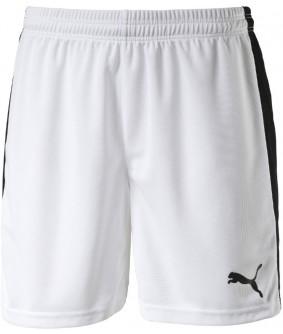 Short Futsal et Foot à 5 Pitch blanc et noir Puma