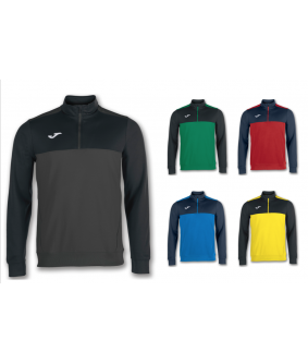 Sweat zippe de futsal et football Winner Joma
