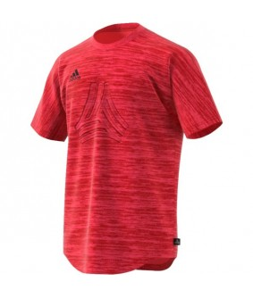 Maillot d'entrainement futsal corail Tango terry adidas