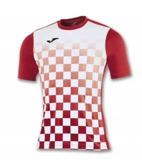 Maillot futsal et football flag rouge Joma