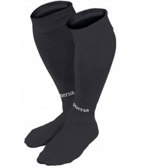 Paires de Chaussettes noires Futsal et foot 5 Classic Joma