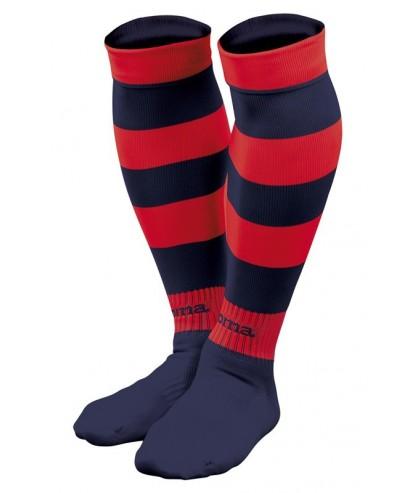 Paire de Chaussettes rouge et noir Futsal Zebra Joma