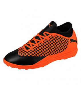 Chaussures Futsal enfant noir/orange future 2.4 TT JR PUMA
