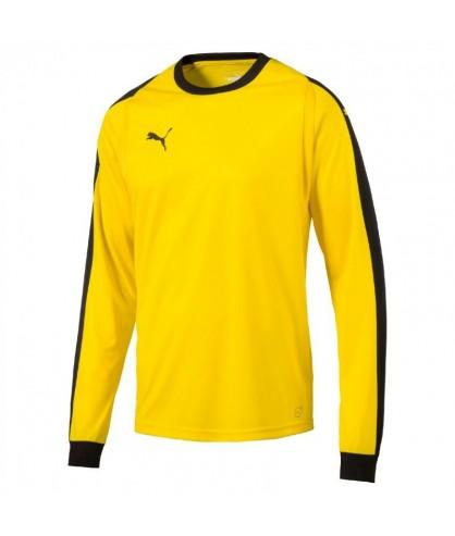 Maillot manches longues jaune futsal et foot5 LIGA GK shirt puma
