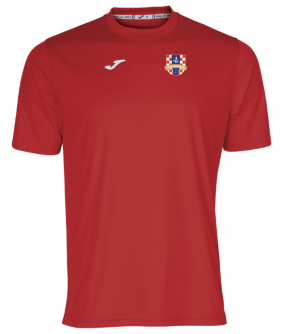 Maillot d'entrainement rouge Croatia Wandre Joma
