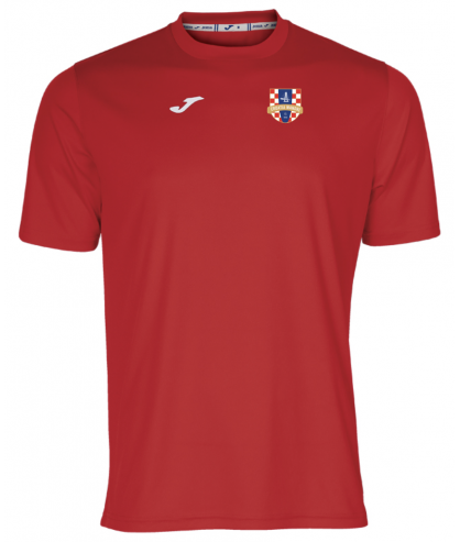 Maillot d'entrainement rouge Croatia Wandre Joma