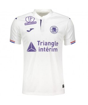 Maillot de football officiel blanc Toulouse Football Club 2018/2019 Joma