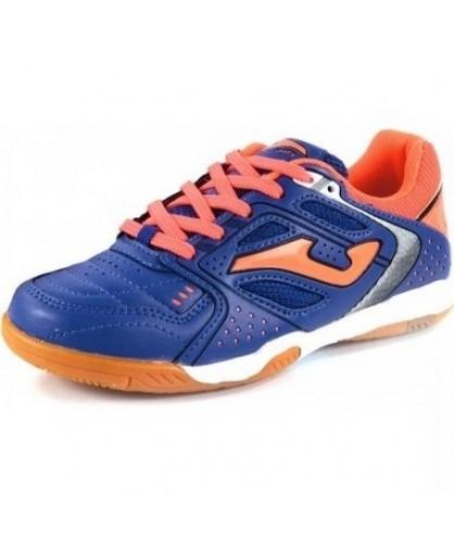 Foot Dribling En Et Chaussures Salle De Bleues Oranges In Junior RpPnw1n