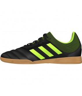 Chaussures de futsal et de football en salle noires et vertes pour enfant Copa 19.3 In Sala adidas