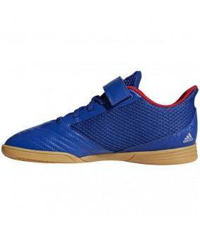 Chaussures de futsal bleues Predator 19.4 IN sala adidas enfant