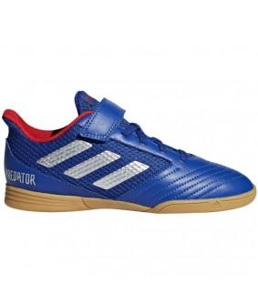 Chaussures de futsal bleues Predator 19.4 IN sala H&L adidas enfant