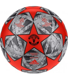 Ballon de football Ligue des Champions 2019 Manchester United Orange adidas
