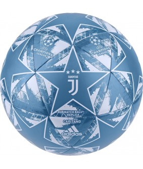 Ballon de futsal et Football Juventus officiel bleu adidas