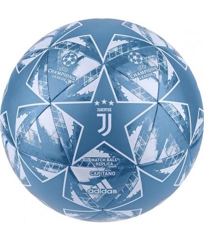 Ballon de futsal et Football Juventus officiel bleu adidas