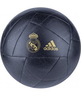 Ballon de Football du Real de Madrid bleu adidas