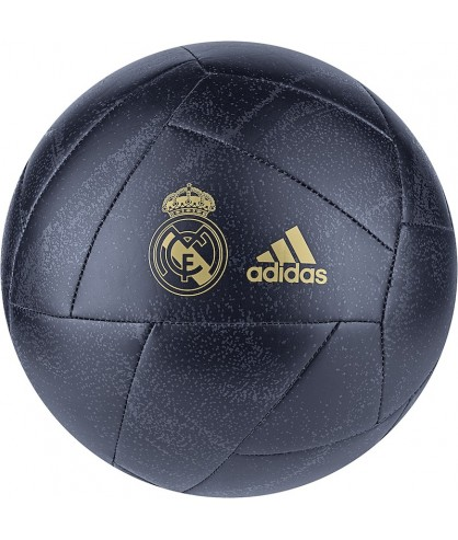 Ballon de Football du Real de Madrid bleu adidas