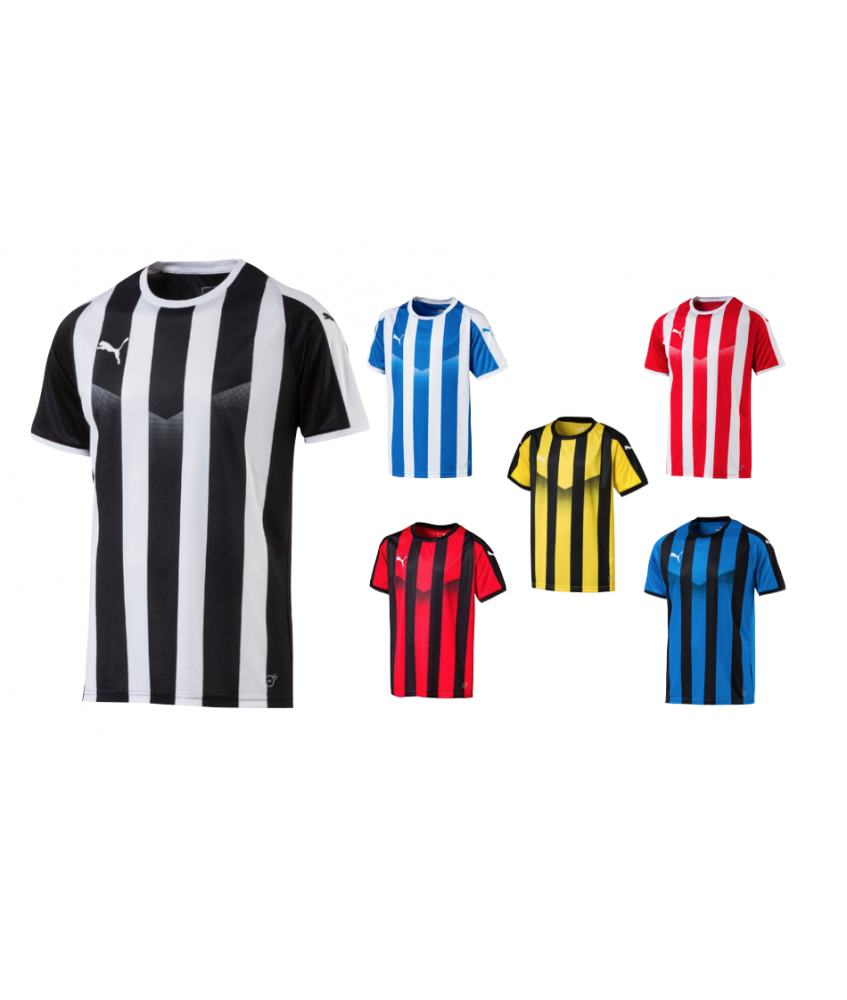 Maillot enfant à rayures Futsal et Foot5 LIGA Jersey Striped