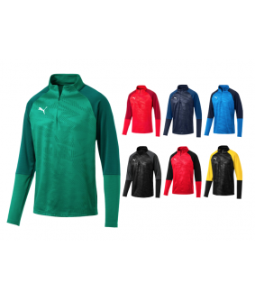 sweat futsal et football cup training zippé puma