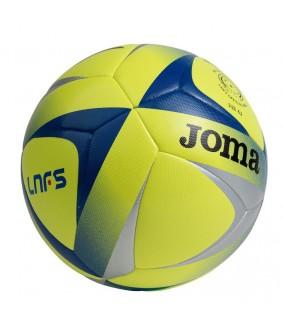 Ballon de Futsal et de Foot a 5 officiel Ligue Futsal Espagnol Aguila F2 Sala Jaune et Bleu Joma