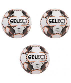 Ballons de Futsal et de Foot5 Lot de 2 + 1 offert Master select