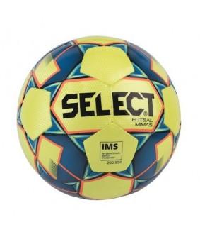 Ballon de Futsal et de Foot à 5 Mimas Jaune Select 2018