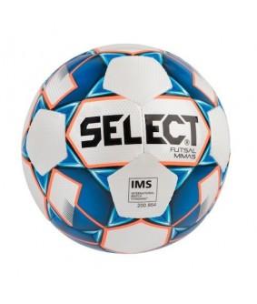 Ballon de Futsal et de Foot à 5 Mimas Bleu/Blanc Select 2018