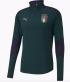 Sweat d'entrainement vert equipe d'Italie