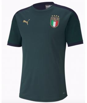 Maillot d'entrainement vert de l'equipe d'italie