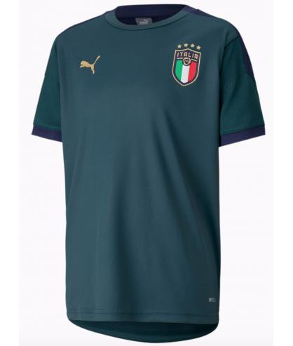 Maillot d'entrainement ENFANT vert equipe d'Italie