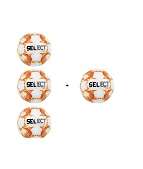 Lot de 3 ballons blanc/orange/jaune + 1 offert Copa Select