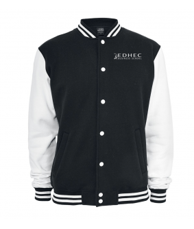 Veste US Old School Noir EDHEC