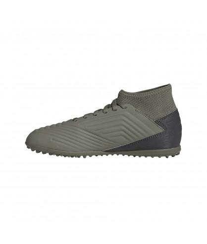 Chaussures grises de Futsal et de Football en salle Predator 19.3 TF Sala pour enfants