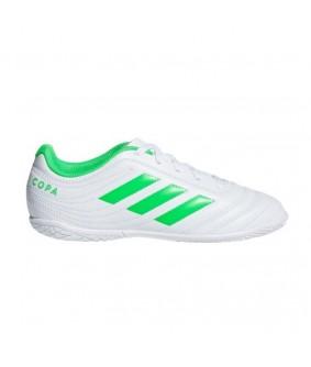 Chaussures de Futsal et Foot 5 blanches pour enfant Copa 19.4 TF adidas