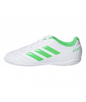 Chaussures de Futsal et Foot 5 blanches Copa 19.4 adidas