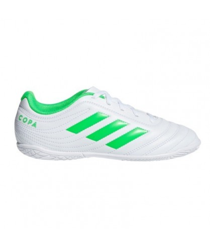 Chaussures de Futsal et Foot 5 blanches Copa 19.4 adidas