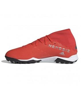 Chaussures de Futsal et de Foot5 Nemeziz ROUGE 19.3 TF adidas