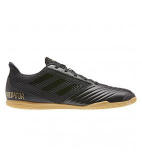 Chaussures pour adultes noires de Futsal et Foot à 5 noires predator 19.4 IN sala adidas