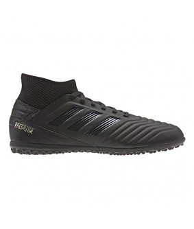 Chaussures enfant de Futsal noires predator 19.3 TF adidas