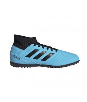 Chaussures pour enfants de Futsal et de Foot à 5 bleues predator 19.3 TF adidas