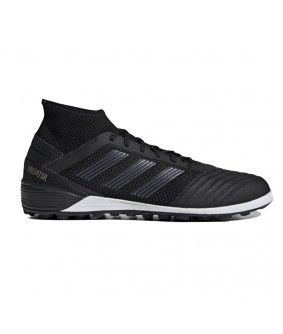 Chaussures pour adultes noires Predator 19.3 TF Adidas