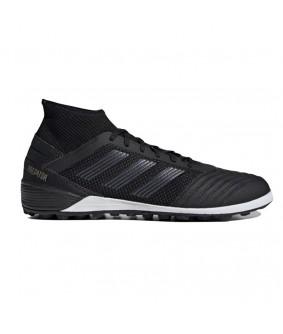 Chaussures pour adultes noires Predator 19.3 TF Adidas