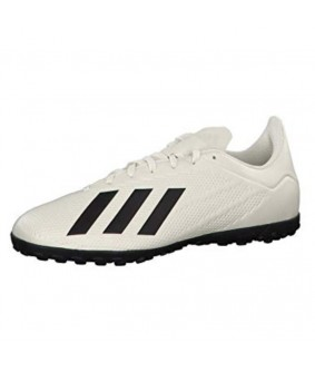 chaussures X tango 18.4 turf blanc casse ADIDAS
