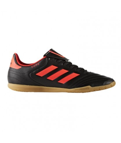 Chaussures Copa 17.4 noires et orange ADIDAS