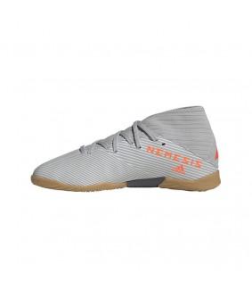 Chaussures de Futsal pour enfants NEMEZIZ 19.3 IN grises ADIDAS