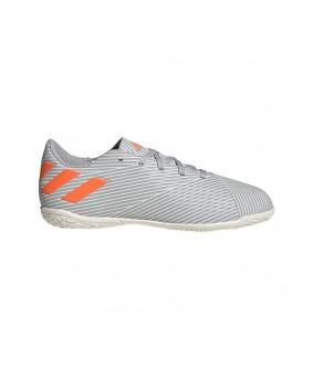 Chaussures de Futsal pour enfants NEMEZIZ 19.4 IN grises ADIDAS