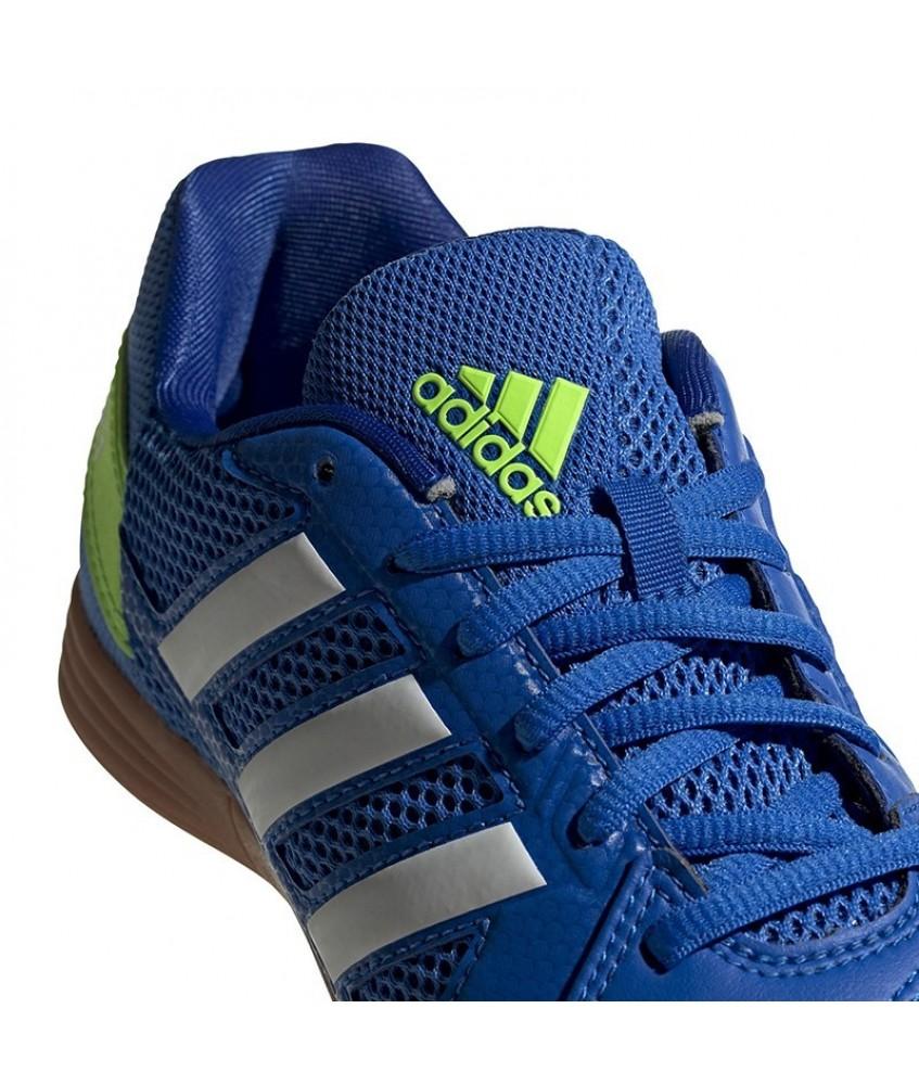 Chaussures de futsal et foot 5 pour enfant Top Sala Bleu ADIDAS ...